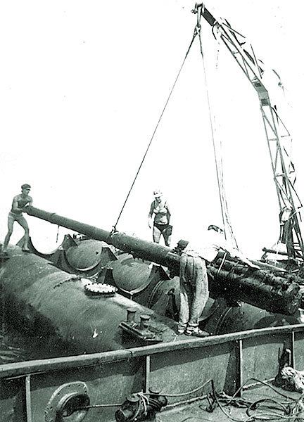 102-мм орудие ЭМ «Фрунзе»