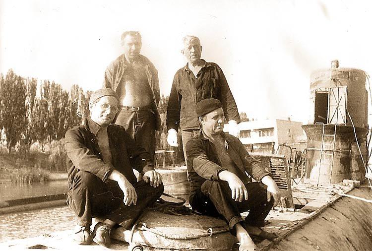 Команда подъема затонувшей ПЛ С-165
