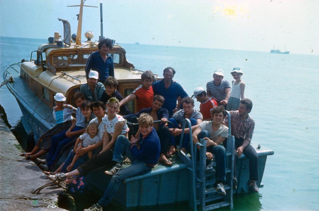 Состав экспедиции 1987 (или 1988) г.