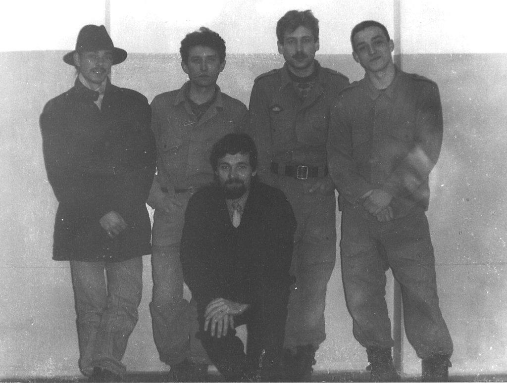 Участники подземной экспедиции 1992-93 гг.
