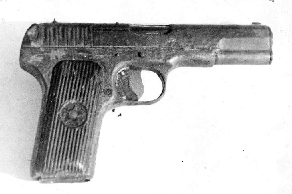Пистолет пилота после очистки