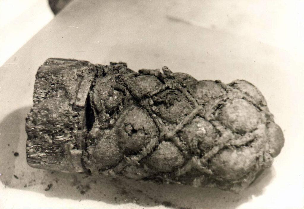 Картечный снаряд с парусного корабля в р-не Кинбурнской косы