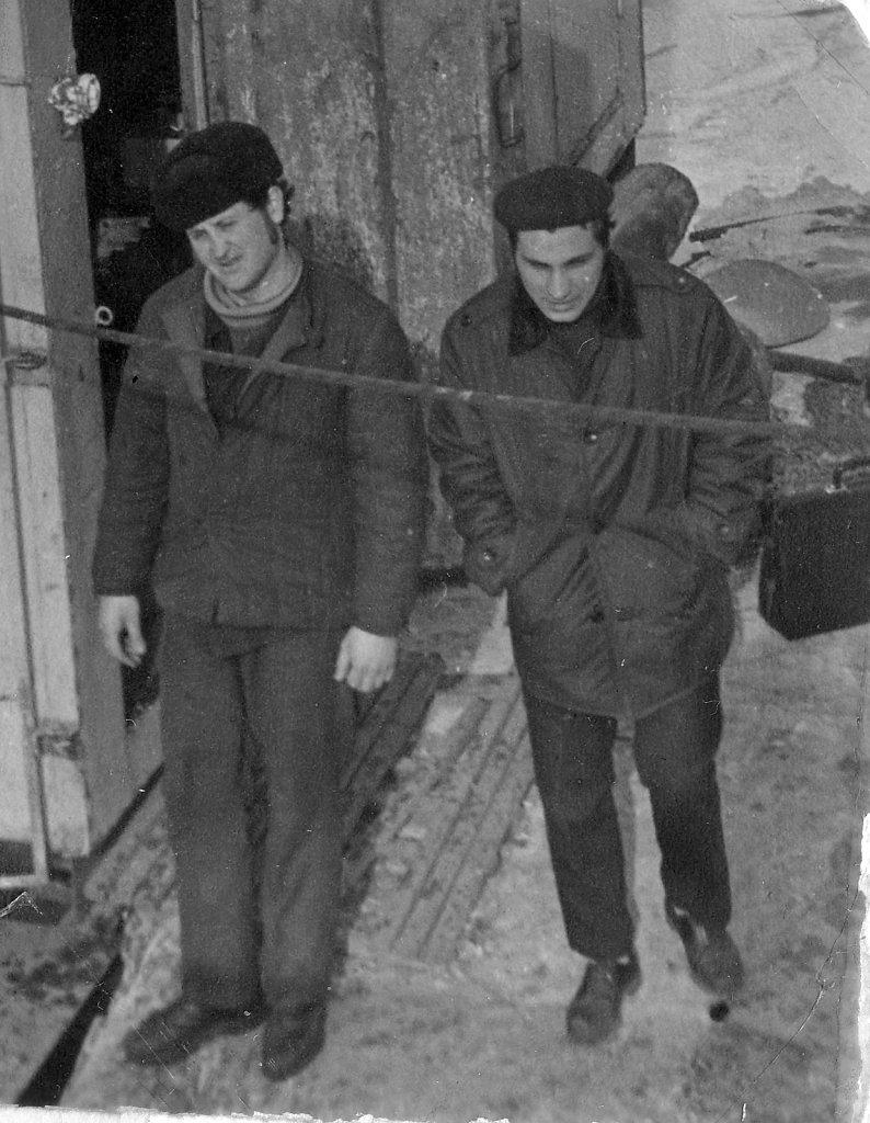Наум Фукс (слева) и Олег Свистунов