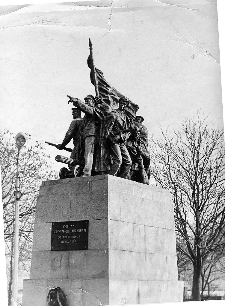 Памятник десанту Ольшанского