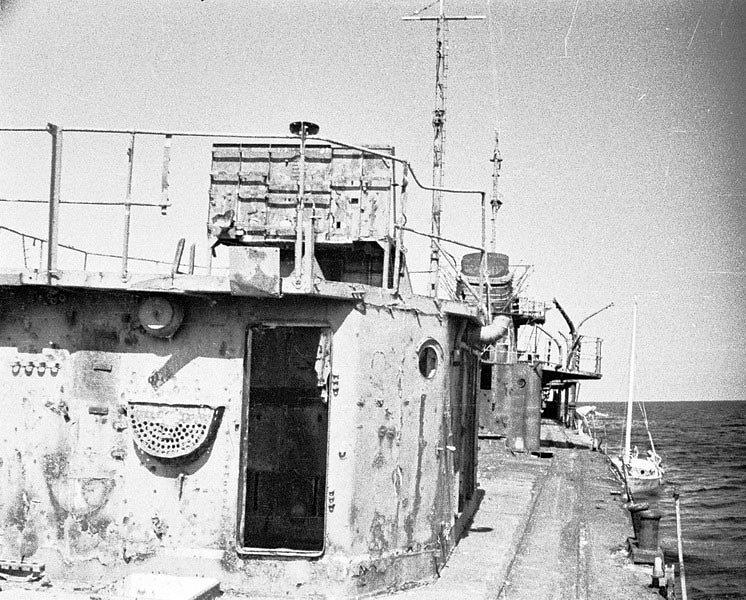 Эсминец БОЙКИЙ в Егорлыцком заливе #1