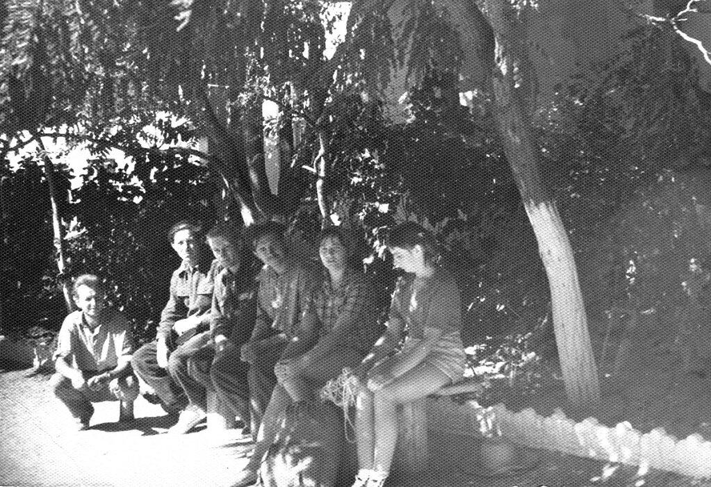 Участники самой первой экспедиции на Кара-Даг
