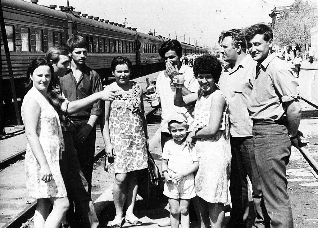 Проводы Золкиной и Рябикина в Москву
