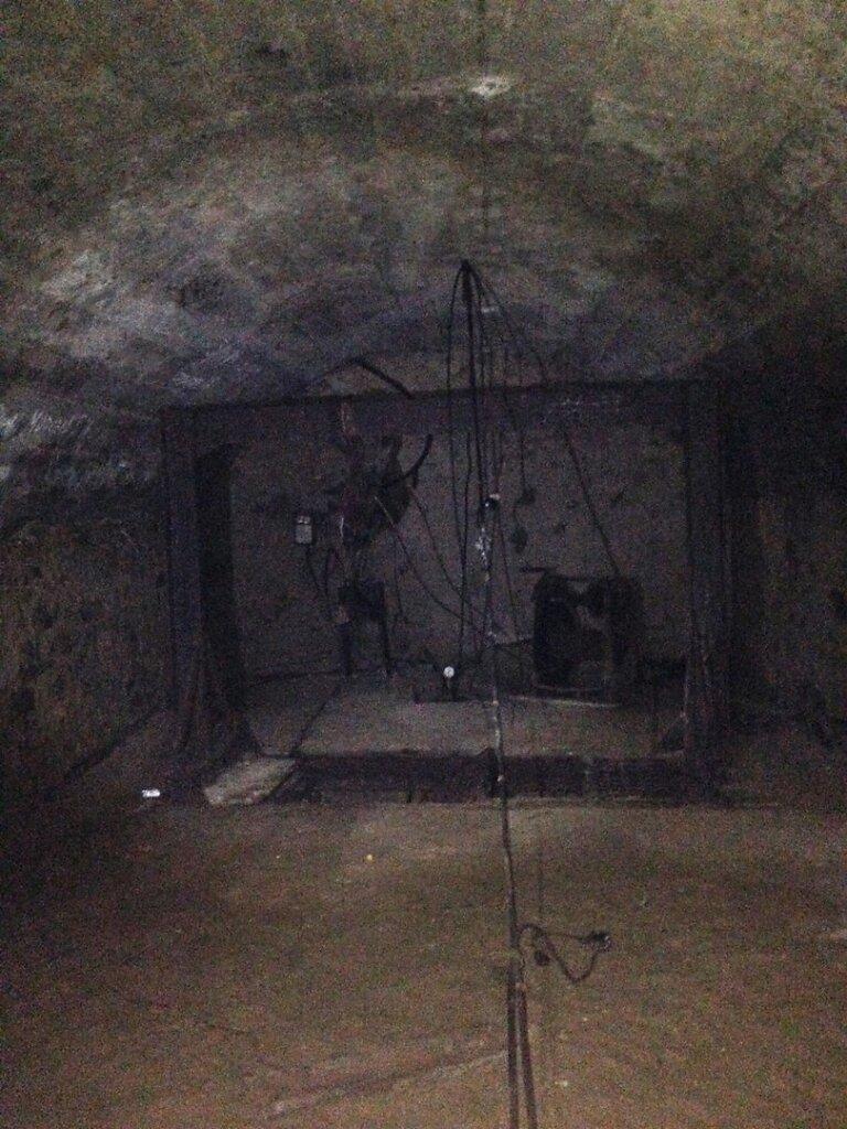 Тупик тоннеля над Артезинаским колодцем №2