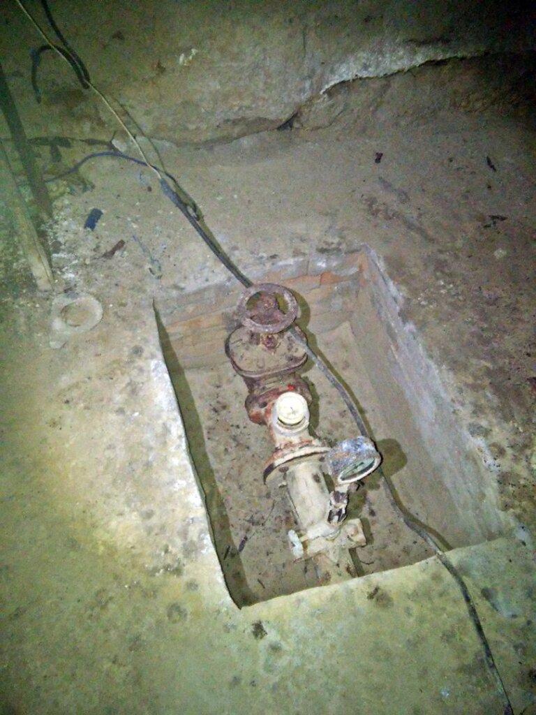 Вентил перекрытия подачи воды из Артезианского колоца №2 на водонапорную башню