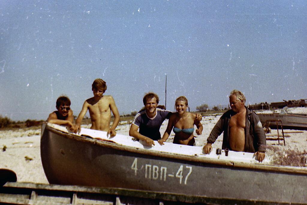 Участники экспедиции ТЕНДРА-90 у ЯЛ-6 #3